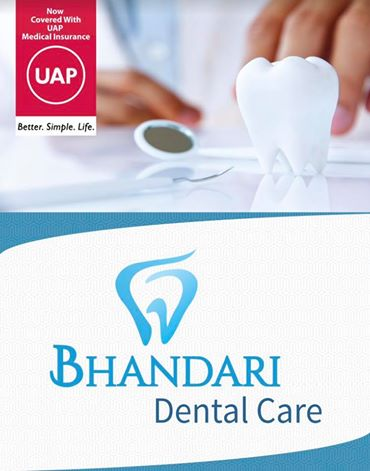 UAP Medical Insurance coverage accepted by Bhandari Dental Care